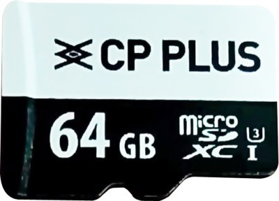 CP PLUS Micro SDXC Card 64  GB MicroSDXC Class 10 70 MB/s Memory Card