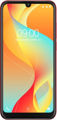 Lava Z66 (Berry Red, 32 GB)(3 GB RAM)