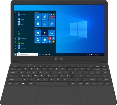 LifeDigital Zed Celeron Dual Core - (4 GB/128 GB SSD/Windows 10 Home) Zed Air Laptop(14.1 inch, Black)