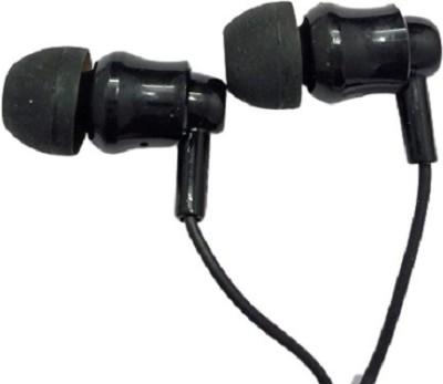 VINGAJOY zm-784 Handsfree Earphone Handfree 3.5mm Jack in-Ear with Mic Wired Headset(Black, In the Ear)