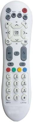 Eduway Compatible Remote Standard Defination (SD) Serise, SD Remote Controller Videocon D2H Remote Controller(White)