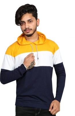 Himgiri International Full Sleeve Color Block Men Sweatshirt