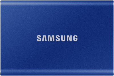 SAMSUNG T7 500 GB External Solid State Drive(Blue)