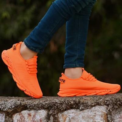 Layasa Walking shoes,Sports,Casual Running Shoes For Men(Orange)