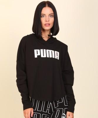 Puma Full Sleeve Printed Women Sweatshirt