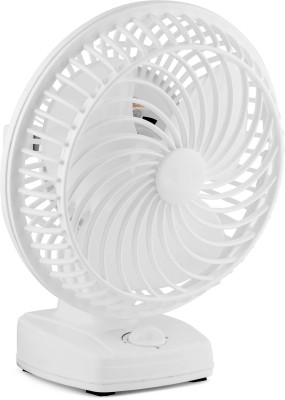 THE. Wall Cum Table fan 230 mm Ultra High Speed 3 Blade Table Fan(white, Pack of 1)