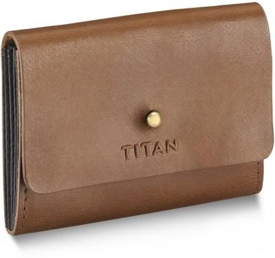 Titan Men Tan Genuine Leather Wallet Titan Wallets