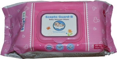 Sceptre BABY SKINCARE WIPES 72 Wipes