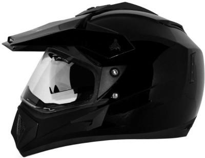 VEGA Off Road D/V Motorbike Helmet(Black)