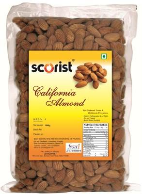 Scorist California 1kg Almonds  (1 kg)