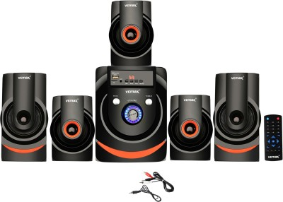 Vemax Star 5.1 Bluetooth Multimedia Home Theater System with FM, Pen Drive, Sd Card, Mobile Aux 55 W Bluetooth Home...