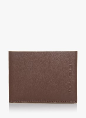 TOMMY HILFIGER Men Brown Artificial Leather Wallet 2 Card Slots TOMMY HILFIGER Wallets