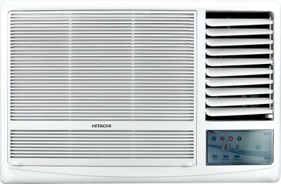Hitachi 1.5 Ton 5 Star BEE Rating 2018 Window AC  – White(RAW518KUDZ1, Copper Condenser)