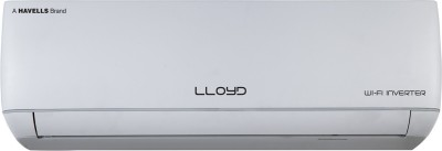 Lloyd 1 Ton 3 Star Split Inverter AC with Wi-fi Connect - White(LS12I35JA, Copper Condenser)