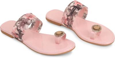 Venix Women Pink Flats