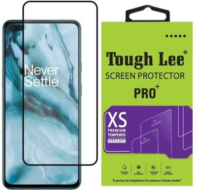 Tough Lee Edge To Edge Tempered Glass for OnePlus Nord(Pack of 1)