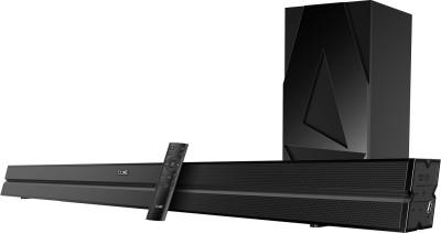 boAt Aavante Bar 120 W Bluetooth Soundbar(Premium Black, 2.1 Channel)