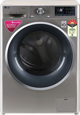 LG 9 kg 5 Star Fully Automatic Front Load with In-built Heater Grey(FHT1409ZWS)