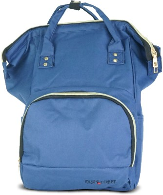 Miss & Chief Super Parent Backpack Diaper Bag(Blue)