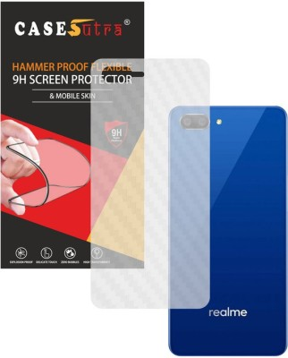 CASESUTRA Back Screen Guard for Realme C1(Pack of 1)