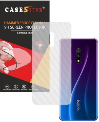 CASESUTRA Back Screen Guard for Realme X(Pack of 1)