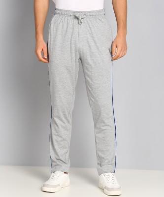 VAN HEUSEN Solid Men Grey Track Pants