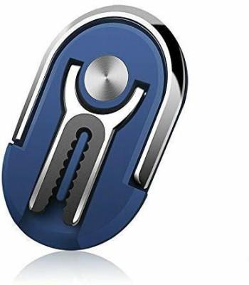 kinshu Back Cover for Mobile Phone Holder Finger Ring(Blue, Hard Case)