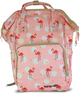Miss & Chief Super Parent Backpack Diaper Bag(Multicolor)