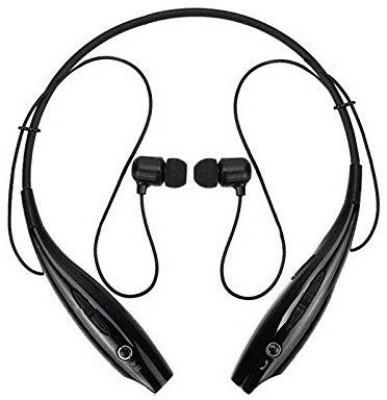Techwire CMVHS-002 Bluetooth Headset(Black, Wireless in the ear)