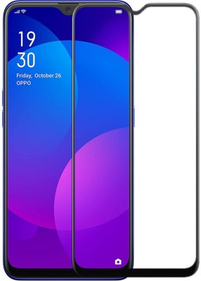 Accesorios Network Edge To Edge Tempered Glass for Oppo F11(Pack of 1)