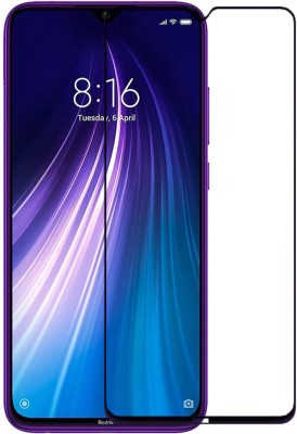 Accesorios Network Edge To Edge Tempered Glass for Redmi Note 8(Pack of 1)
