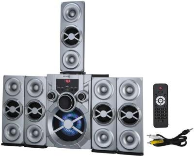 Seven r Grand 007 HI BASS SOUNDBAR,TOWER SPEAKER 120 W Bluetooth Home Theatre(Silver, 5.1 Channel)