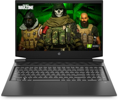 HP Pavilion Gaming Core i5 10th Gen - (8 GB/1 TB HDD/256 GB SSD/Windows 10 Home/4 GB Graphics/NVIDIA GeForce GTX 1650 Ti) 16-a0023TX Gaming Laptop(16.1 inch, Shadow Black, 2.44 kg, With MS Office)