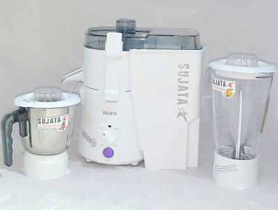 SUJATA 401-A.1 Power Matic Plus 900 Juicer Mixer Grinder(Color White, 2 Jars)