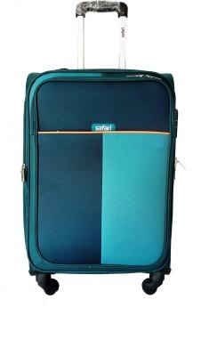 Safari URBAN Expandable  Check in Luggage   26 inch Teal