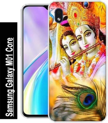 BAGRA Back Cover for Samsung Galaxy M01 Core(Multicolor, Grip Case, Silicon)