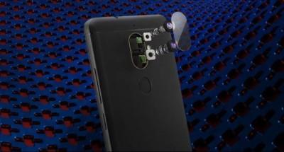 BKPRO Camera Lens Protector for Lenovo K8 Plus(Pack of 2)