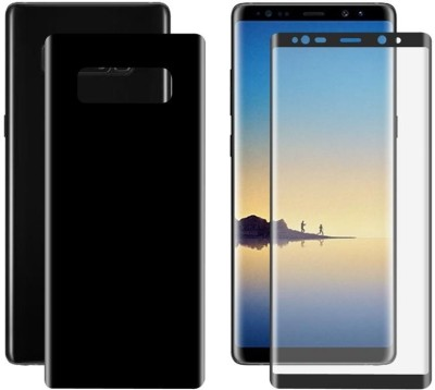 COVERS ECLAT MOBITECH LLP Front and Back Screen Guard for Samsung Galaxy Note 8(Pack of 2)