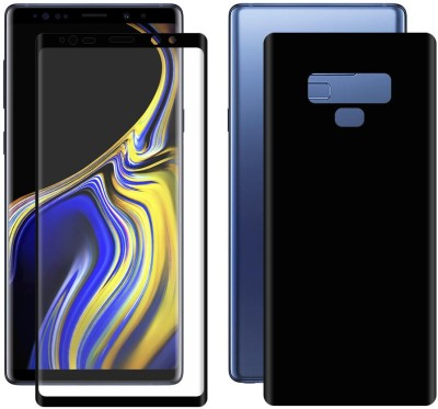 COVERS ECLAT MOBITECH LLP Front and Back Screen Guard for Samsung Galaxy Note 9(Pack of 2)