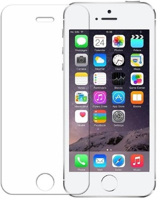 electmart Tempered Glass Guard for Apple iPhone 5s, Apple iPhone 5s SE, Apple iPhone 5(Pack of 1)