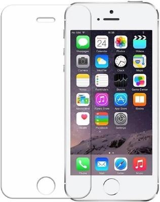 electmart Tempered Glass Guard for Apple iPhone 5s, Apple iPhone 5s SE, Apple iPhone 5(Pack of 1)
