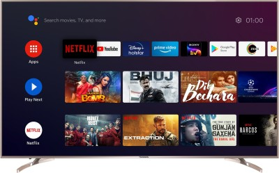 Thomson 189cm (75 inch) Ultra HD (4K) LED Smart Android TV(75 OATHPRO2121)