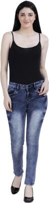 NSG Slim Women Blue Jeans(Pack of 5)
