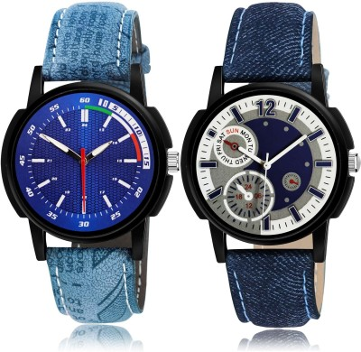 GROOT Treading Quartz Sports 2 Watch Combo For Boys And Men - BRA23-B662 combo watch Analog Watch  - For Men