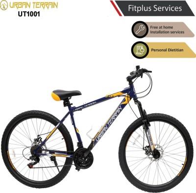 Urban Terrain UT1001 MTB 27.5 T Mountain Cycle  (21 Gear, Blue)