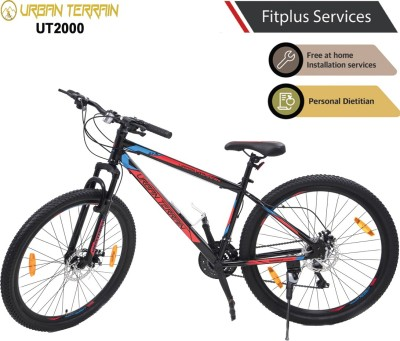 Urban Terrain UT2000 MTB 27.5 T Mountain Cycle  (21 Gear, Red)
