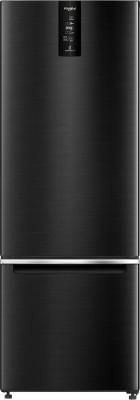 Whirlpool 355 L Frost Free Double Door Bottom Mount 3 Star (2020) Refrigerator(Steel Onyx, IFPRO BM INV 370 ELT+ STEEL ONYX (3S)-N)