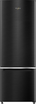 Whirlpool 325 L Frost Free Double Door Bottom Mount 3 Star (2020) Refrigerator(Steel Onyx, IFPRO BM INV 340 ELT STEEL ONYX (3S)-N)