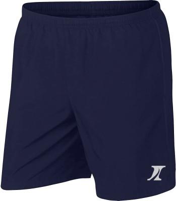 INDICLUB Solid Men Dark Blue Sports Shorts