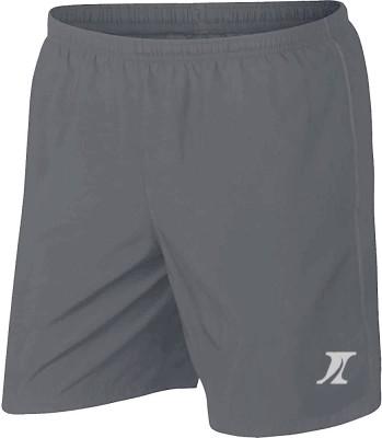 INDICLUB Solid Men Grey Sports Shorts